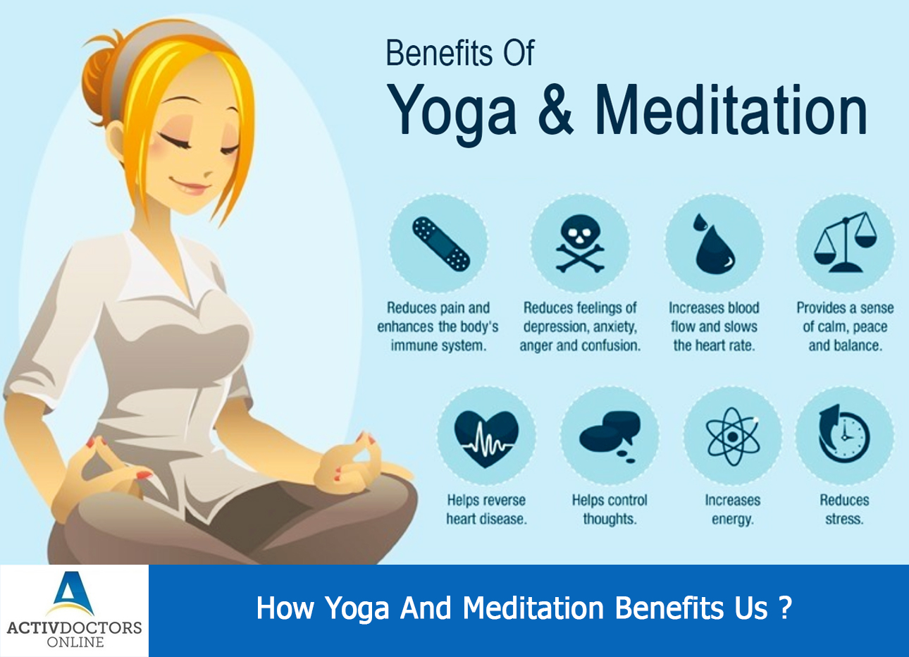 How Yoga And Meditation Benefits Us | Activ Doctors Online