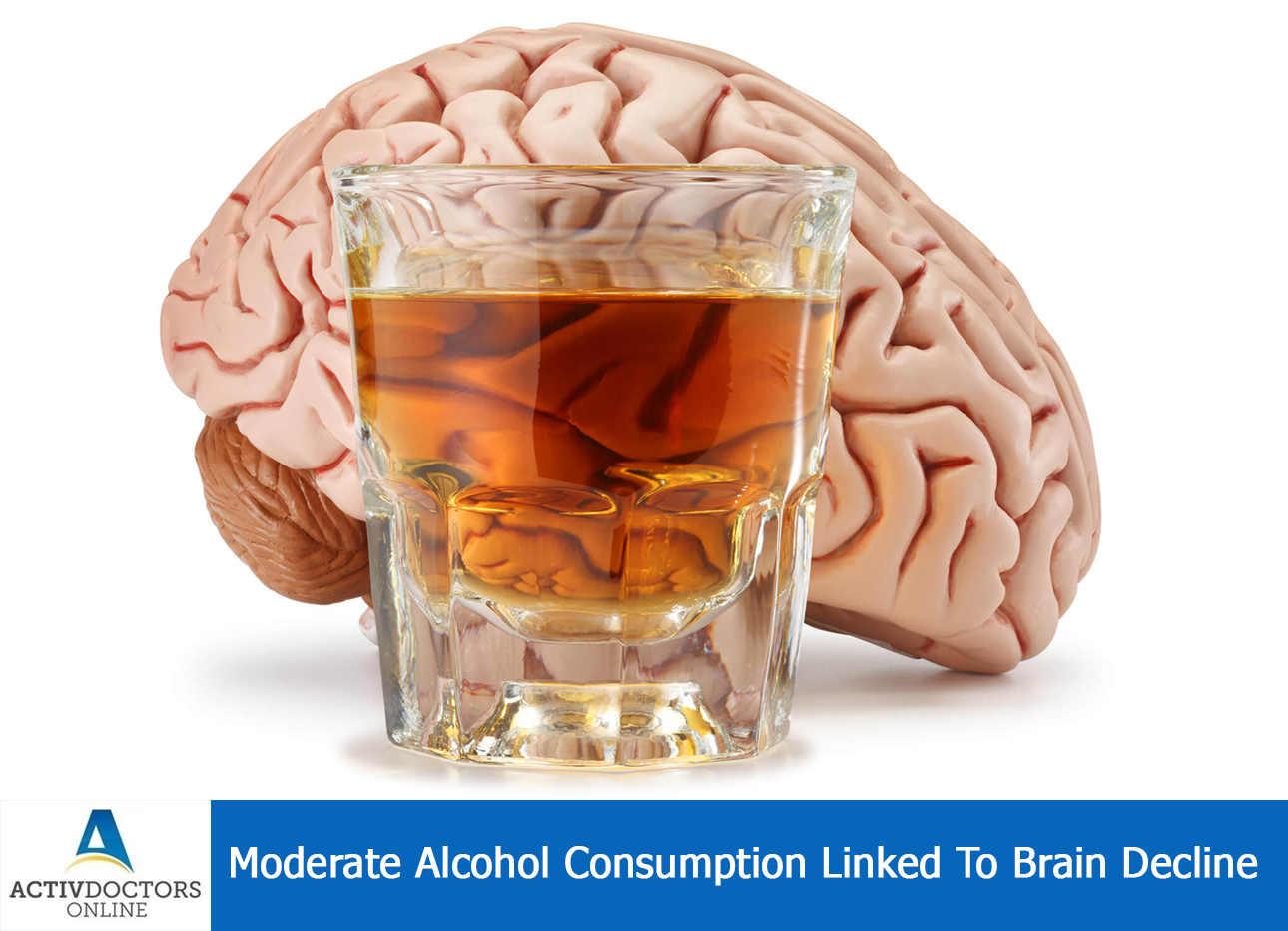 Moderate Alcohol Consumption Linked To Brain Decline